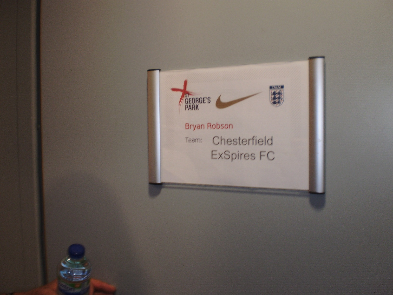 Chesterfield ExSpires visit to the FA at St. George's Park